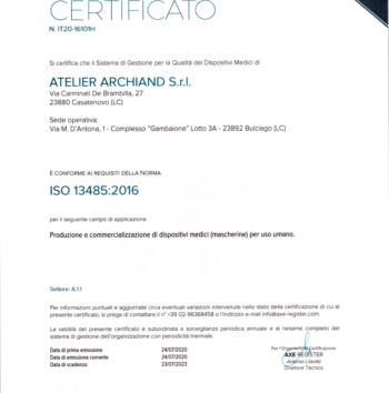 ISO 13485 Anteprima